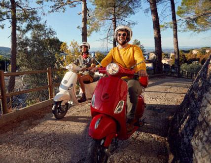 Scooter o motocicleta
